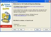 Copias de seguridad de Outlook Express en milbits