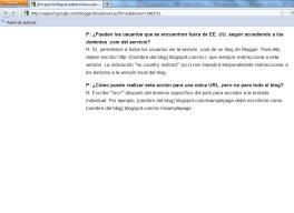El nuevo filtro territorial de Google: blogspot.com.es en milbits