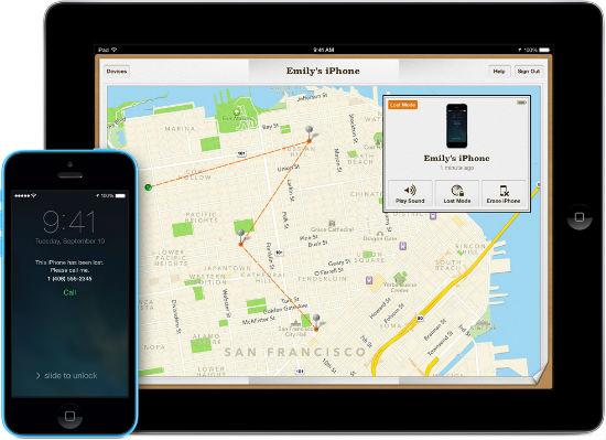Bloqueo de activación para iPhone perdido con iOS 7