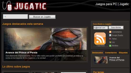 Jugatic: juegos para pc