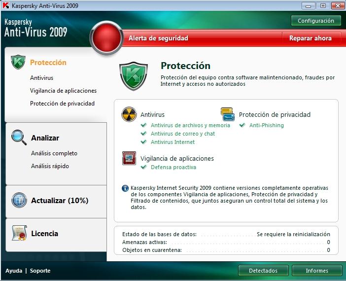 los mejores antivirus del 2008 | milbits