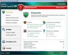 Análisis de Kaspersky Internet Security 2009 en milbits