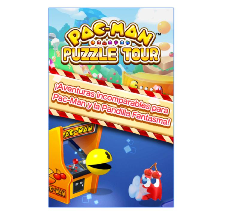Pac-Man Puzzle Tour