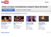 YouTube cambia a espacio ilimitado en milbits