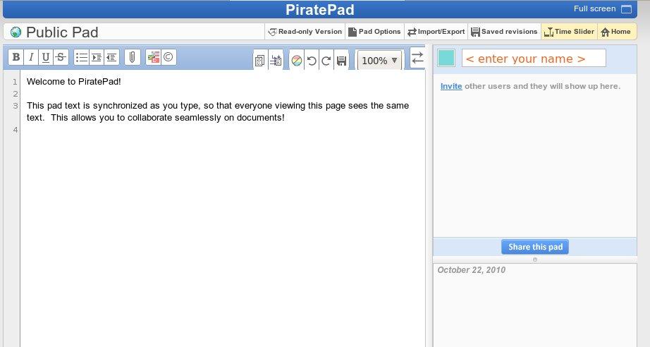 piratepad | milbits