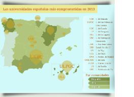 Ranking de Universidades Españolas en Software Libre 2013 en milbits