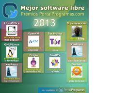 Los ganadores de los Premios PortalProgramas al Software Libre 2013 en milbits