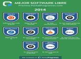 Ganadores de la 6ª edición de los Premios PortalProgramas al Software Libre 2014 en milbits