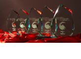 Los trofeos de los ganadores de los Premios PortalProgramas 2016 en milbits