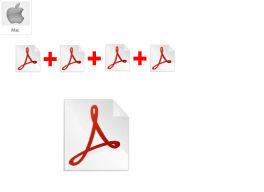 Unir archivos PDF en Mac en milbits
