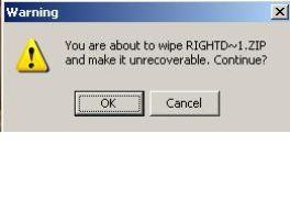 Tus archivos personales borrados de manera segura en milbits