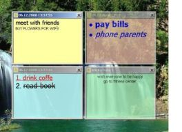 No te olvides con Sticky Notes Manager en milbits