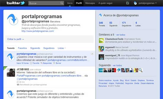 facebook y twitter complementarios o competidores | milbits