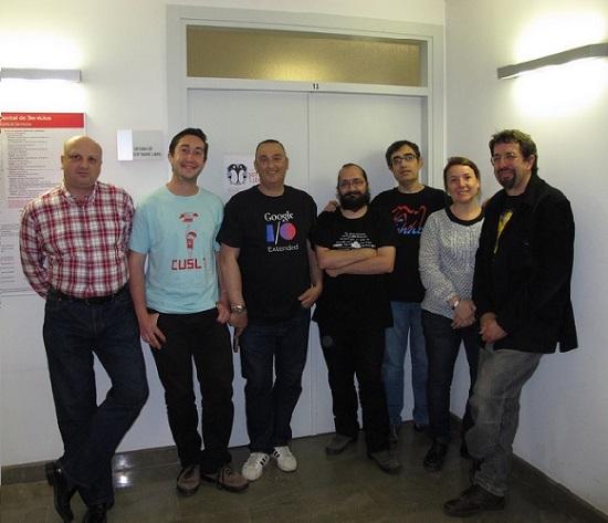 Miembros de la OSL de la Universidad de Granada