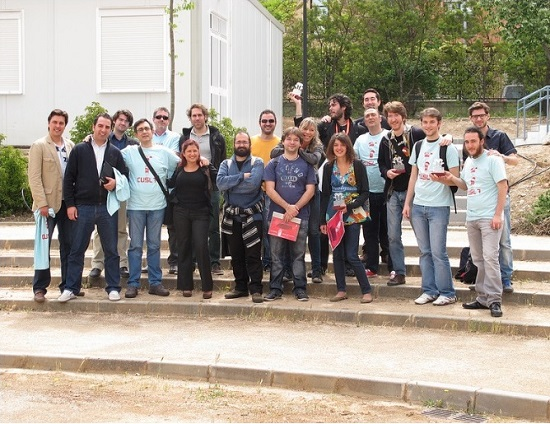 Participantes del Premio Local del CuSL de la UGR
